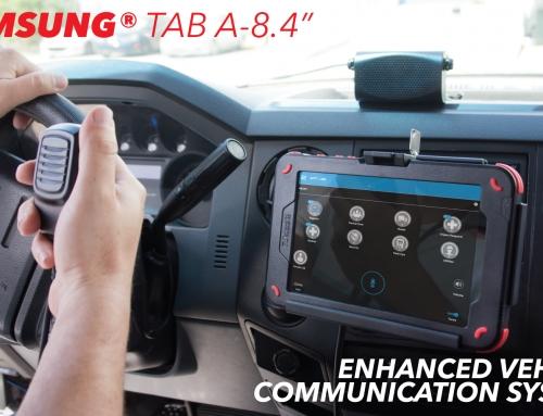 New Samsung Tablet Enhanced Vehicular Communication System